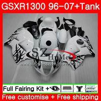 Обтекатели для SUZUKI черный Пламя Hayabusa GSXR1300 96 07 GSXR 1300 96 97 98 99 00 01 42SH5 GSX R1300 1996 1997 1998 1999 2001