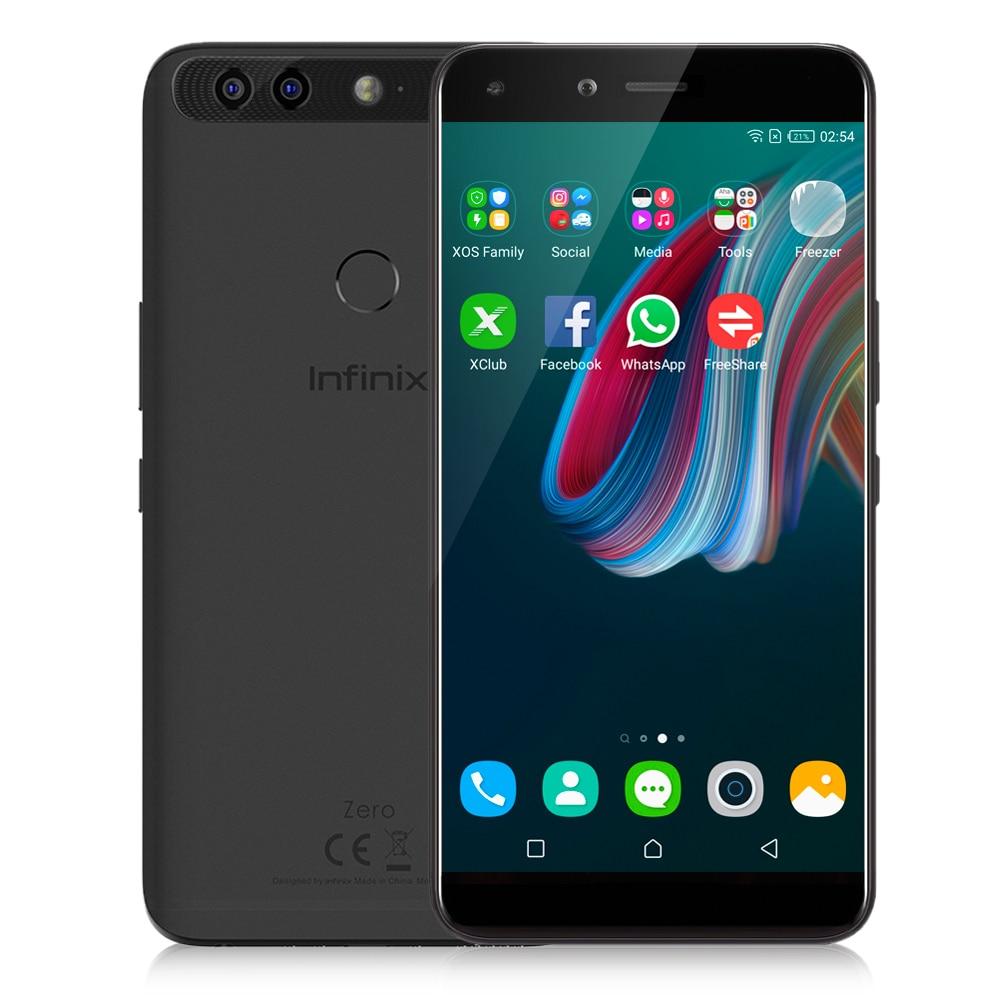 Infinix Zero 5 4G Smartphone Android 7 0 5 98 Inch Helio P25 Octa Core 6GB