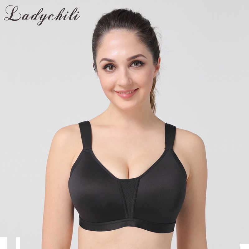a95a1228b98 Ladychili Women Intimates S-XL Plus Size Seamless Full Cup Wireless Bra Top  Comfort Large