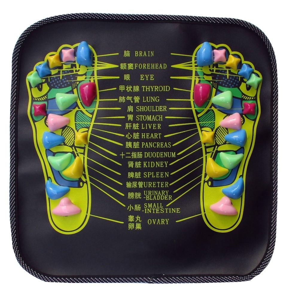 1 Piece Acupuncture Cobblestone Colorful Foot Reflexology ...