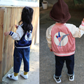 Children Jacket Autumn Baby Boy Girls Jacket Coat Stella The Swallow Embroidered Boys Parka Jackets Zipper Coat  Kids Clothing