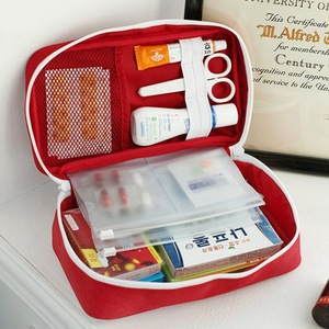 Image 2 - NEW First Aid Kit Emergency Medical First aid kit bag Waterproof Car kits bag Outdoor Travel Survival kit Empty bag