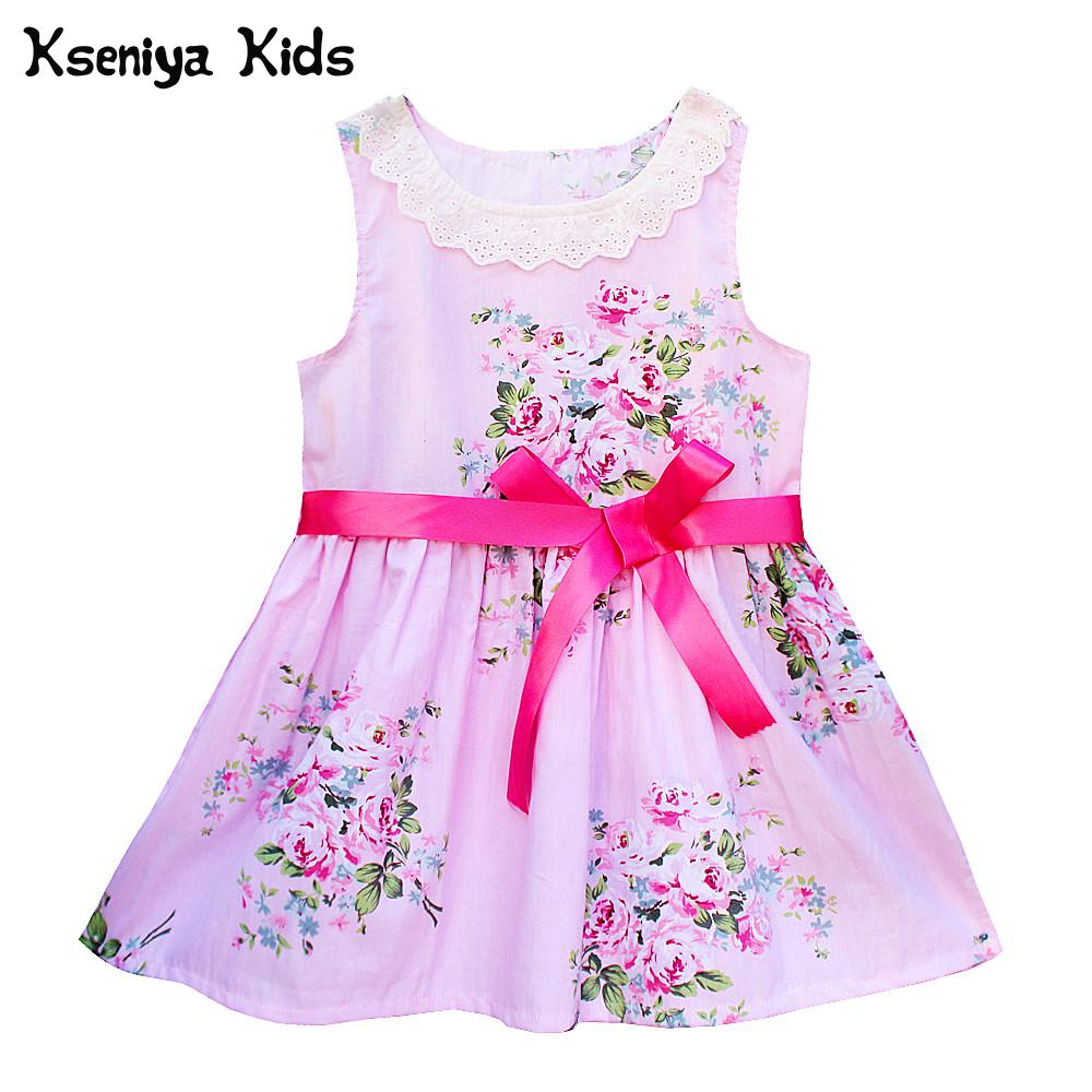 Kseniya Kids Newborn Girl Baby Dresses Girl Wedding Lace Flower Girl Dresses 1 Year Birthday Dress Baby Clothing Party Dress