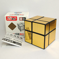 Newest ShengShou 2X2 Mirror Magic Cube Puzzle Qiyi New Thunderclap V2 3x3x3 Cube Twisty Puzzle Educational Toys Cubo Magico