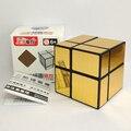 Nueva ShengShou 2X2 Espejo Cubo Mágico Puzzle Qiyi Nuevo Trueno V2 3x3x3 Cubo Twisty rompecabezas Juguetes Educativos Cubo Mágico