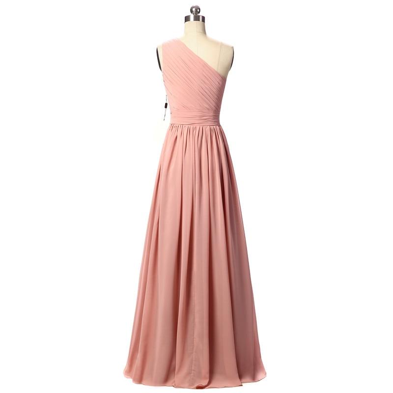 Excepcional Uno Vestidos De Dama Hombro Bajo 100 Ornamento ...