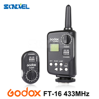 Godox FT 16 Wireless Power Remote Controller Flash Trigger for Witstro AD180 AD360 AD360II Speedlite FOR Canon Nikon Pentax