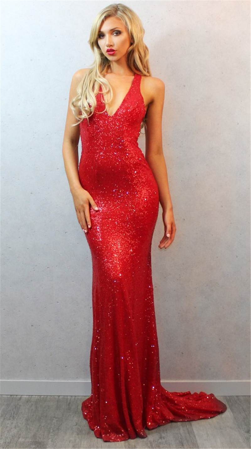 Online Get Cheap Sexy Red Prom Dresses -Aliexpress.com | Alibaba Group