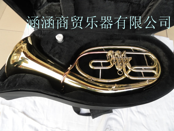 Wholesale - 3 flat key Bb Euphonium French horn golden wholesale