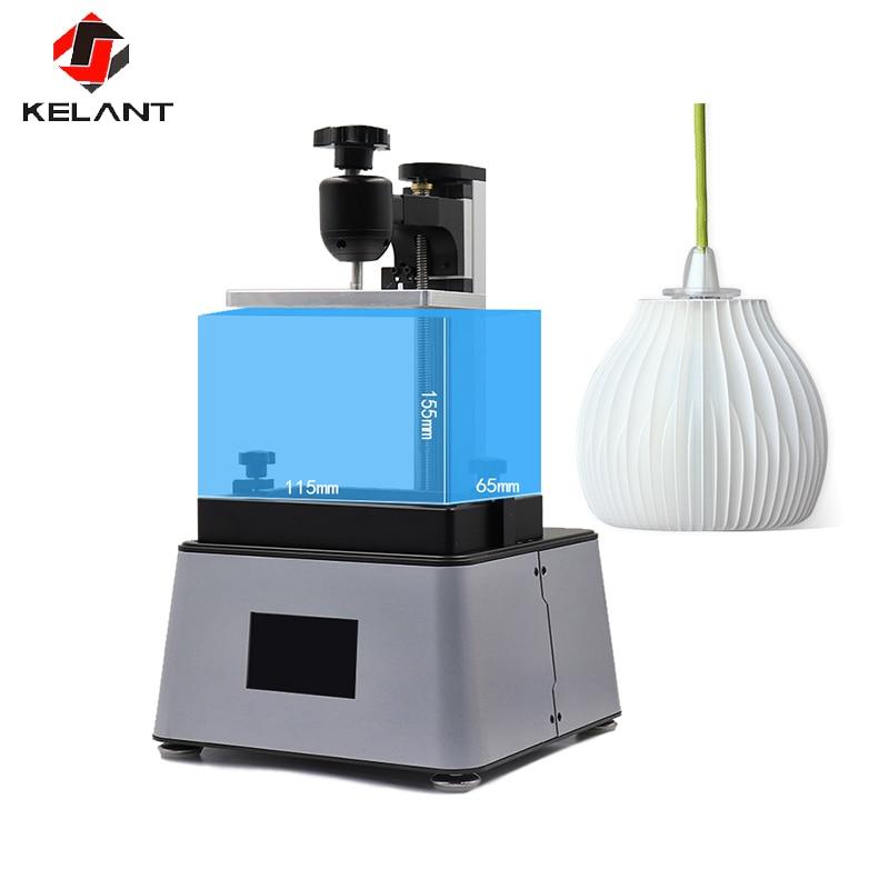 Kelant 3D принтеры лазерные большие УФ Фотон смолы SLA светильник-лечение 3,5 Настольный Impresora 405nm плюс 3d принтеры офисная Электроника