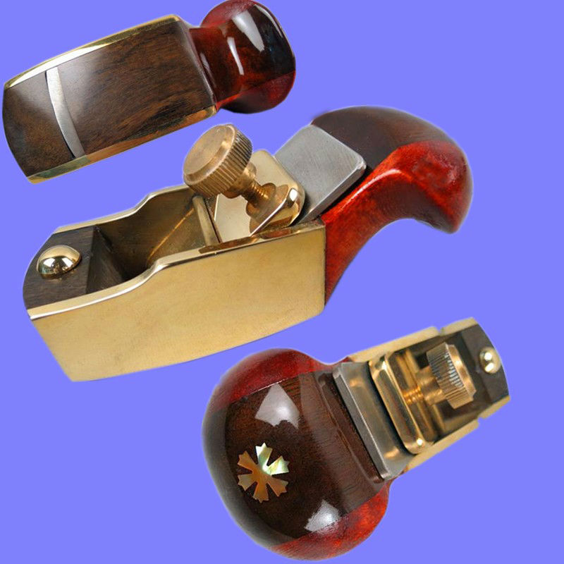 MIni brass+maple+blackwood convex bottom planes 3 1/8 violin making woodworking tool luthiertools craft plane набор канцелярский planes