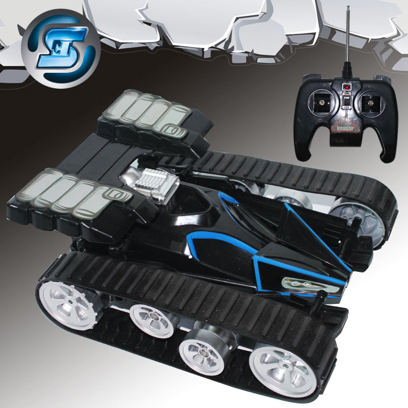 2016 cross country remote vehicle Super deformation Charge Intelligence high speed mode 2 RC climb tank electric Childrens Toys