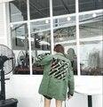Off Jaqueta Branca Das Mulheres Dos Homens Do Exército Verde Bordado Camo Flor Harajuku Casacos MA1 VIRGIL ABLOH Pyrex Jaquetas Blusão Fora Do Branco
