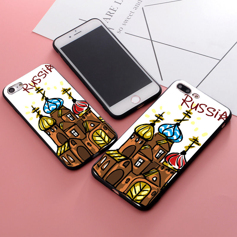 Maiyaca Russian Nesting Doll Novelty Fundas Phone Case Cover For Apple Iphone 5 5s 5c Se And 6s 7 8 Phone Case Modern Techniques Phone Bags & Cases