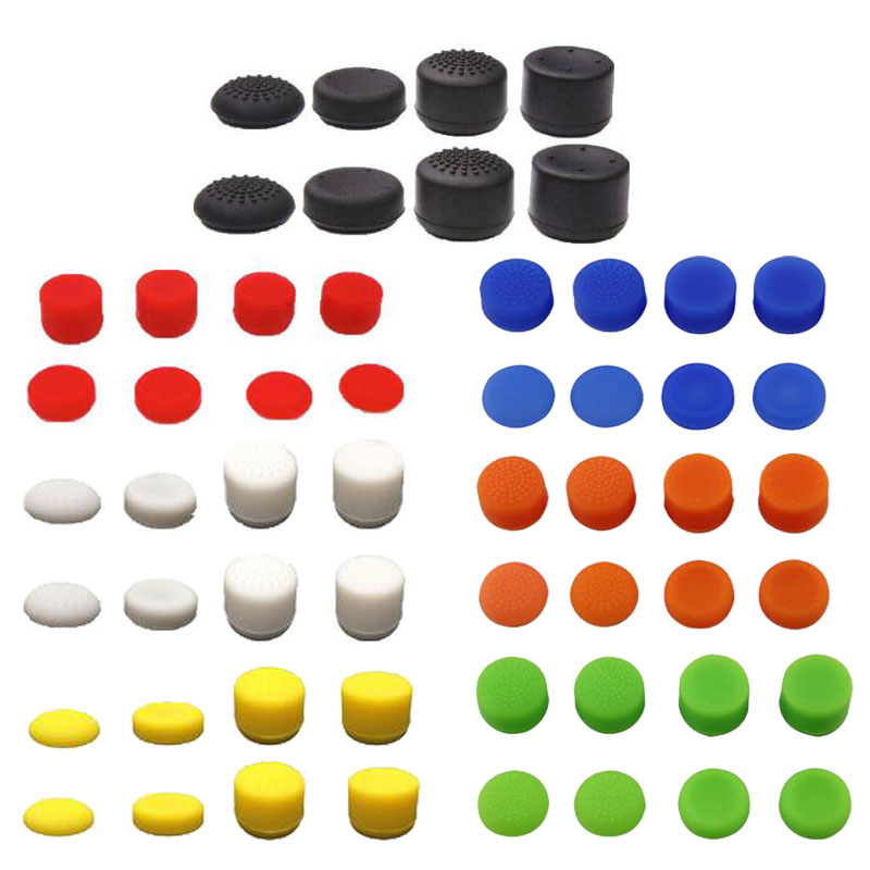 Gamepad Thumb Stick Grip Cap Joystick Extra High Cover For Sony PlayStation Dualshock 3 4 PS3 PS4 Slim Pro Xbox 360 Controller