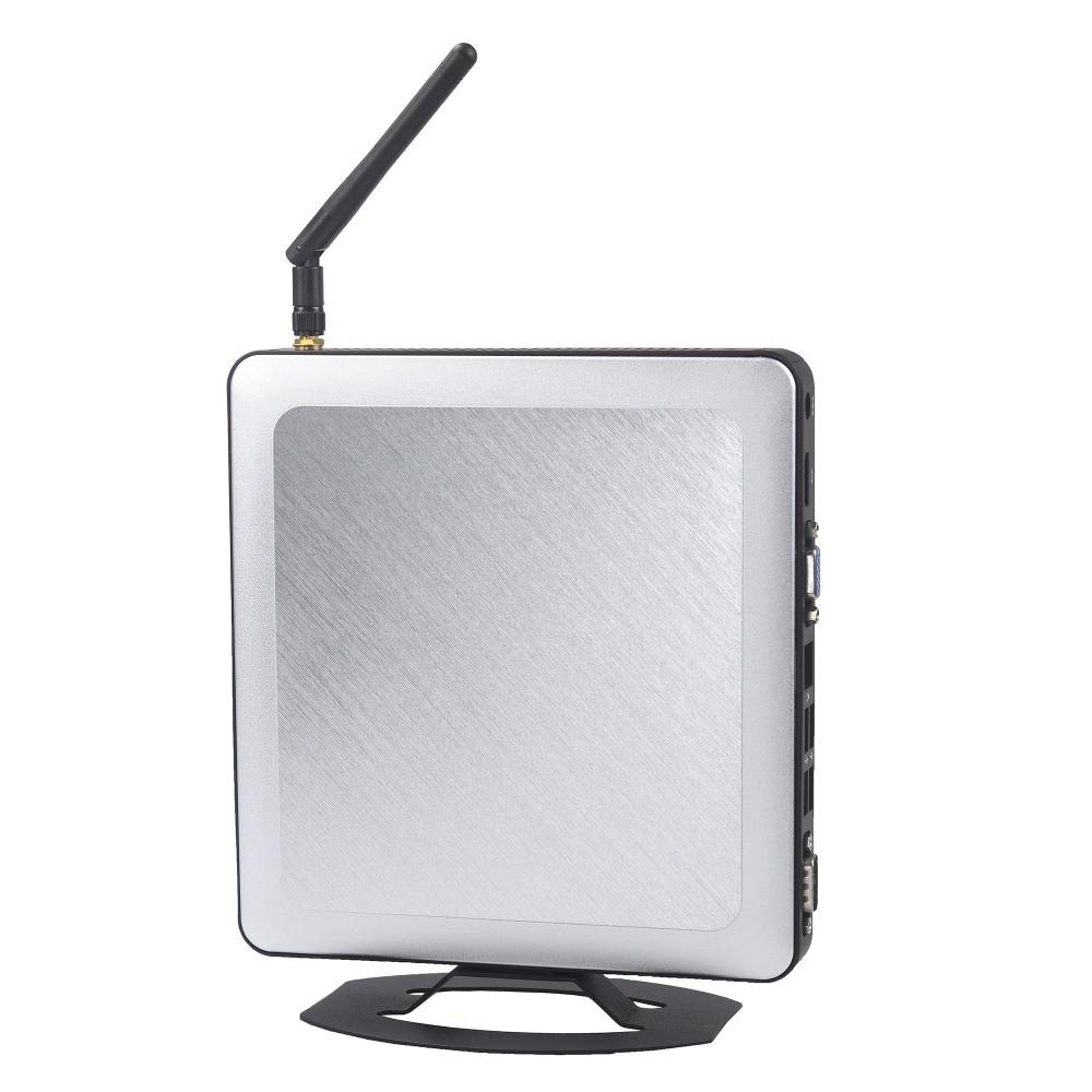 1TB 8 USB Port Windows 10 Mini Pc I3 Intel Dual Core HDMI COM Wifi Small Computer Industrial