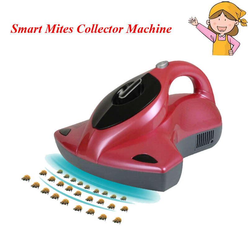 1pc Smart Mites Collector Underbed Vacuum Acarid-killing Multifunction Aspirator Cleaner UV Germicidal Sweeping Machine G1