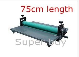Manual Cold Roll Laminator Laminating Machine 750mm Foldable