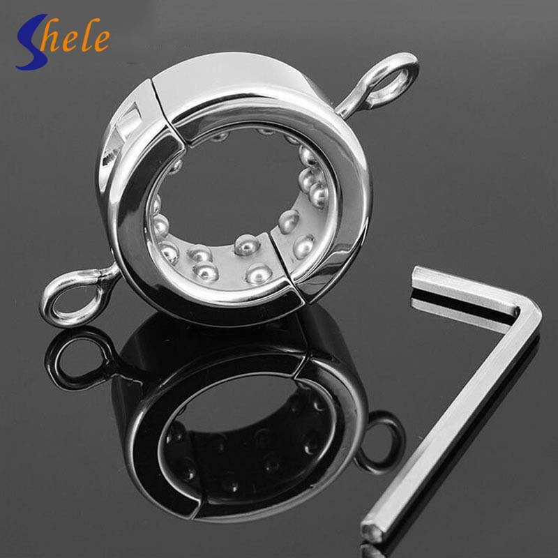 Removable Stainless Steel Male Chastity Device Cock Lock  Metal Penis Rings Sex Toys For Men penis rings 590g heavy stainless steel cock ring adult sex toys for men chastity device penis sleeve metal penis cock ring