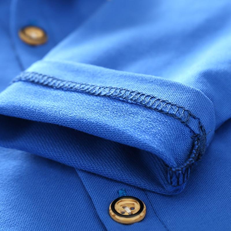 Koszulka dziecięca z guzikami Koszulka polo dla dziewczynki z - Ubrania dziecięce - Zdjęcie 5