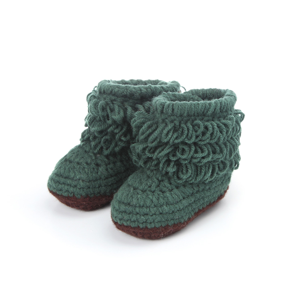 Handmade-Crochet-Baby-Shoes-Girls-Knitted-Tassels-Ankle-Baby-Boots-Toddler-Girl-Boy-Wool-Snow-Crib-Shoes-Socks-Booties-T0081-3