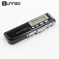 SUNNZO Voice Recorder 8GB Portable Digital Voice Recorder Recording Pen MP3 Player Dictaphone With Auto Power