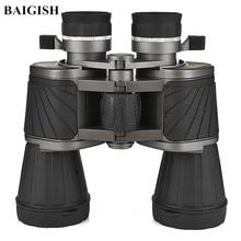 купить 10X50 Binoculars Original Professional Telescope Hd Eyepiece High Quality Russian Military binocular Lll Night Vision Hunting дешево
