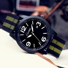 2016 Luxury Brand Carmis Мода Часы Мужчины Повседневная часы Водонепроницаемые Военная Relogio Masculino Спорт Мужчины Наручные Часы