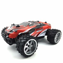 RC Monster Car 1/16 Scale 2.4GHZ 2WD Fast Speed 20 Km/h Racing  Electric Big Wheel RTR Remote Control Off-road Vehicles Cars