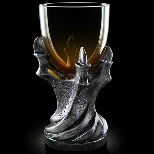 RUIDA 3D Game of Thrones Mug Creativity Skull Dragon Claw Cup Dragon Glass Shot Cup Beer Glass Cup 3 Colour GL01
