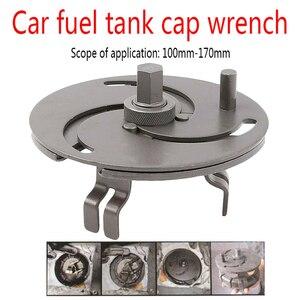 Image 5 - جديد قابل للتعديل سيارة خزان الوقود غطاء أداة مفتاح الربط إزالة غطاء النفط غطاء المضخة المفك