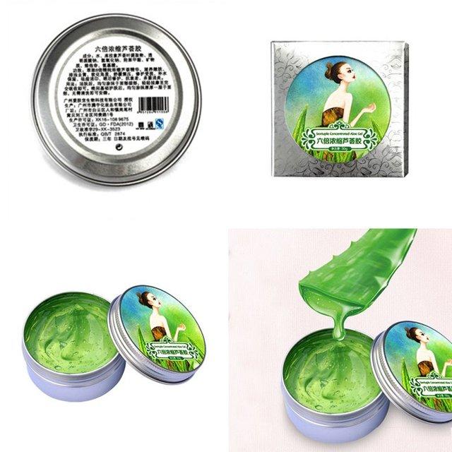 100% Pure Natural Aloe Vera Gel Wrinkle Removal Moisturizing Anti Acne Anti-sensitive Oil-Control Aloe Vera Sunscreen Cream