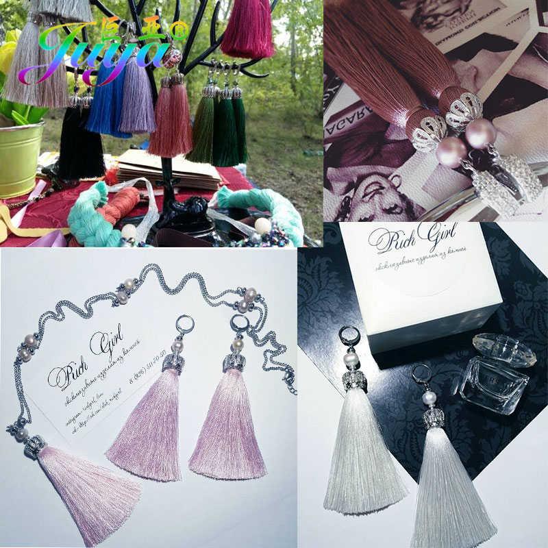 Juya DIY Mỹ Chất Liệu Trang Sức Tiếp Liệu Handmade Ráy Tai Vàng/Bông Tai Móc Phụ Kiện Cho Nữ Bông Tai Cao Cấp Làm Cho