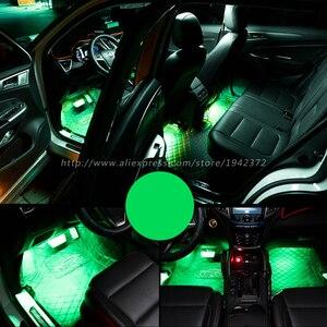 Image 4 - RGB 5050 SMD Flexible LED Strip Interior Decoration Light with Remote Control DC12V
