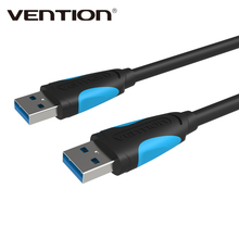 Vention USB 3.0 Male To Male A Type M/M USB Cable AM TO AM 480bps Data Transfer Cable For Radiator Car Speaker Hard Disk