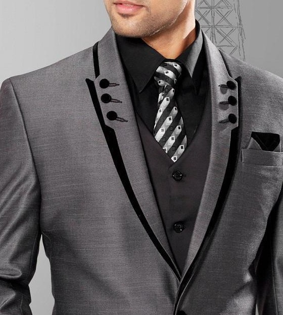 Unique Design Male suit Wedding Suits For Man Groomsman Tuxedos-in ...
