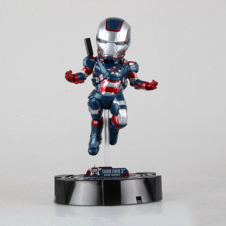 Marvel Iron Man Iron Patriot PVC Action Figure Collection Model Toy