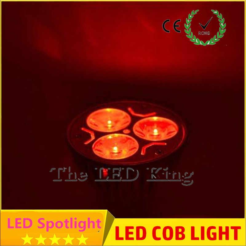 GU5.3 GU10 MR16 LED Spot COB Dimmable 6 w 9 w 12 w 15 w Spot ampoule rouge bleu vert haute puissance lampe AC DC 12 V ou 85-265 V