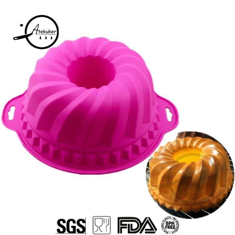 """""""Atekuker"""" didelis silikoninių pyragų formelis kepimui - Virtuvė, valgomasis ir baras"""