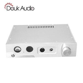 Nobsound Hi-End Aluminum ChassisVU Meter Headphone Amp Enclosure Box DIY  Amplifier