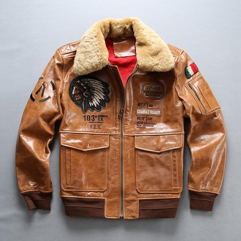Aliexpress.com: Comprar Hombres vintage chaqueta de vuelo