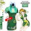 Free Shipping  Anime LOVE LIVE! Koizumi Hanayo Uniforms Cosplay Costume Cheongsam S-XL or Custom-made Any Size