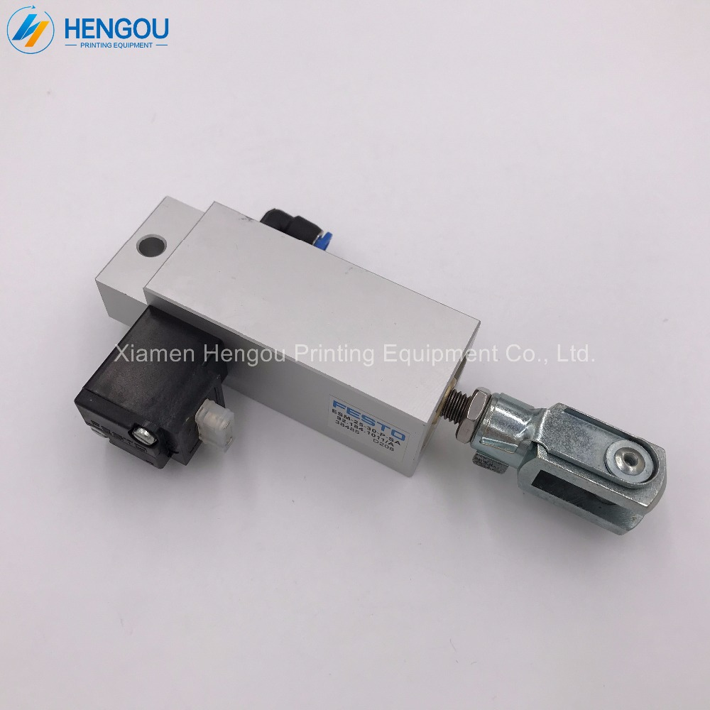 4 Pieces 92.184.1011 Heidelberg Solenoid valve 92.184.1011/A FESTO ESM-25-30-P-SA for PM74 SM74 Machine 2 pieces festo cylinder valve for pm74 sm74 heidelberg 61 184 1131
