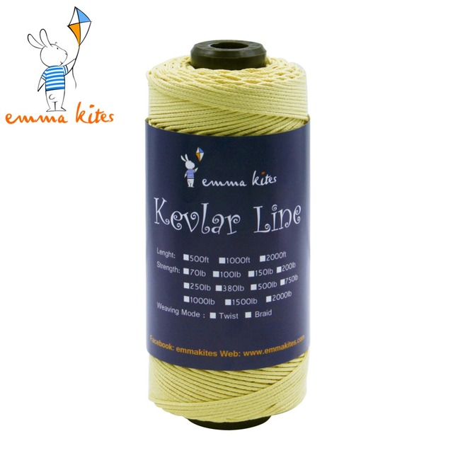 HEAVY DUTY! 500LB Strong Kevlar Line String 500ft / 152M Large 1.5mm Diameter For Fishing / Camping / Hiking / Kite Flying SALE