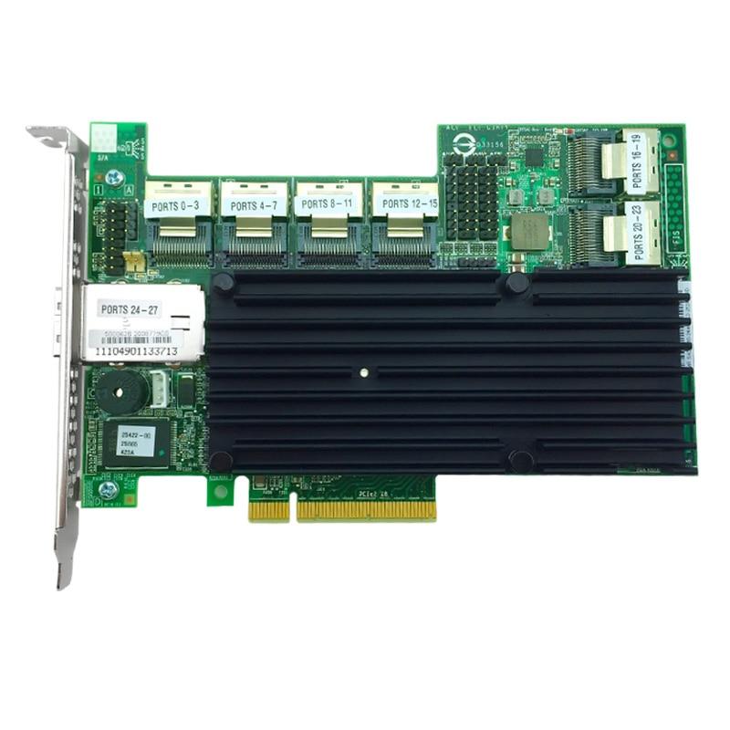 все цены на  MegaRAID 9280-24i4e 24-Port Internal + External 4 Ports 6Gb/s SATA/SAS RAID Card  онлайн