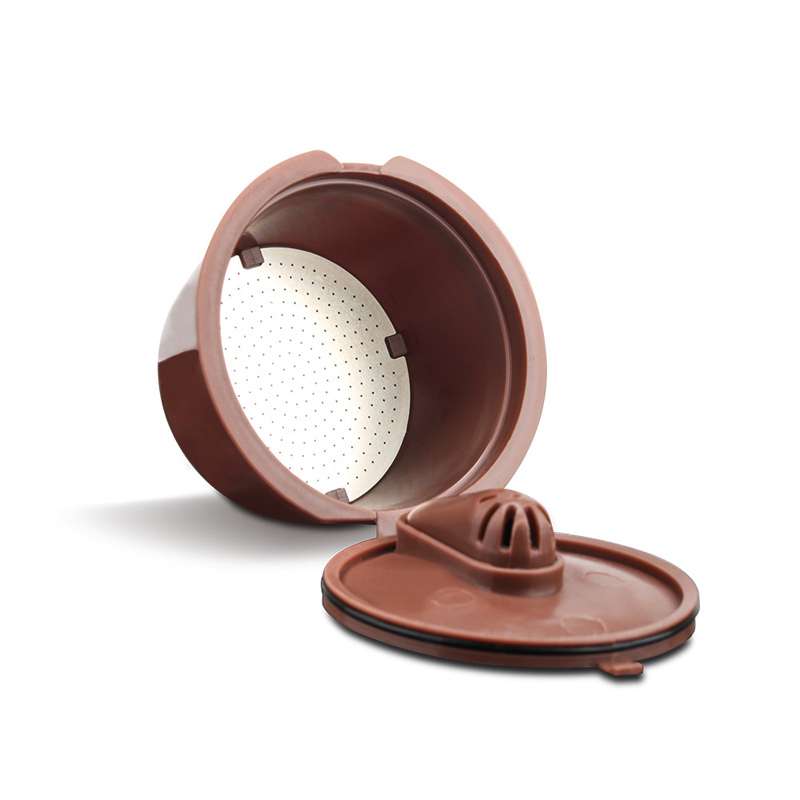 For Dolce Gusto Upgrade 3rd Generation Crema Coffee Capsule Filter Cup Refillable Reusable Crema Coffee Dripper Tea Baskets