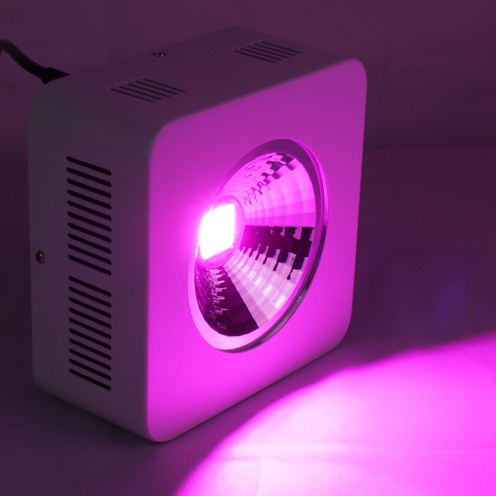 2pcs/lot USA Stock Reflector+COB Full Spectrum 200w Led Grow Light 64x3w Grow Leds hydroponic lightings for Medicinal Plants medicinal plants for anti inflammatory activity