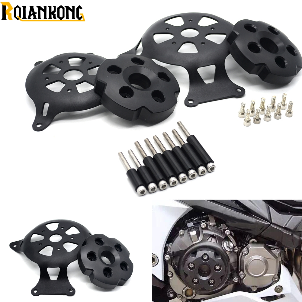 HOT Motobike Motorcycle Z800 logo Engine Stator Cover Guard For Kawasaki Z800 Z 8002013 2014 2015 2016 motor protectorHOT Motobike Motorcycle Z800 logo Engine Stator Cover Guard For Kawasaki Z800 Z 8002013 2014 2015 2016 motor protector