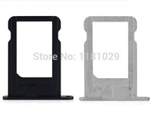 Whole Sale 10pcs/lot Original SIM Card Tray Holder For iPhone 5 5G Brand New Repalcement Parts SIM Card Slot Free Shipping