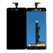 ل BQ Aquaris A4.5 شاشات كريستال بلورية + شاشة تعمل باللمس مكون 4.5 بوصة إصلاح أجزاء أداة مجانية شحن مجاني